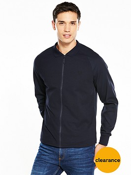 fred-perry-zip-through-shirt