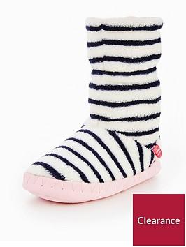 joules-girls-french-navy-stripe-booty-slipper