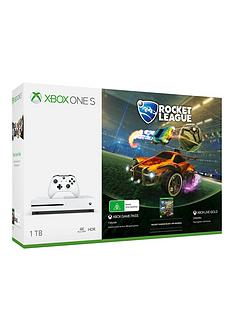 xbox-one-s-1tb-console-rocket-leaguenbspbundle-with-optional-extra-controller-andor-12-months-live-gold