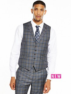ted-baker-sterling-check-waistcoat