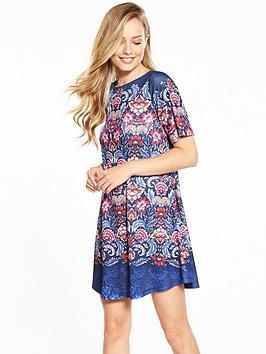 Photo of V by very short sleeve swing dress