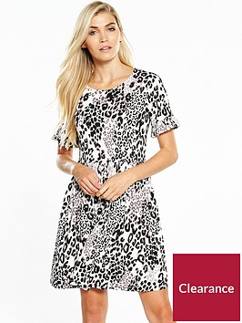 v-by-very-ruffle-sleeve-smock-dress