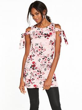 v-by-very-tie-sleeve-crepe-tunic