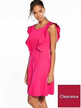 v-by-very-frill-dress-hot-pink