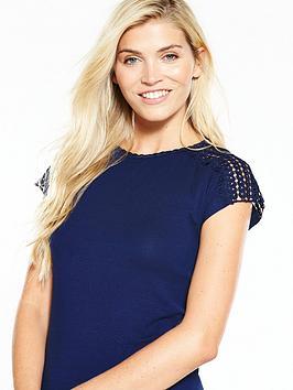 v-by-very-cornelli-sleeve-t-shirt