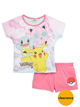 pokemon-girls-shorty-pyjamas