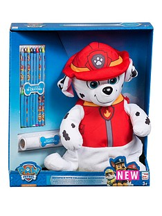 paw-patrol-paw-patrol-marshall-colouring-backpack-with-accessories