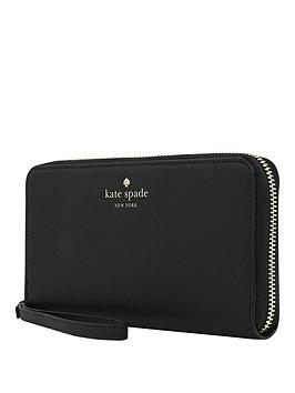 kate-spade-new-york-new-york-zip-wristlet-wallet-phone-case-for-any-device-ndash-saffiano-black