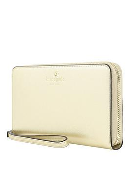 kate-spade-new-york-new-york-zip-wristlet-wallet-phone-case-for-any-device-ndash-saffiano-gold