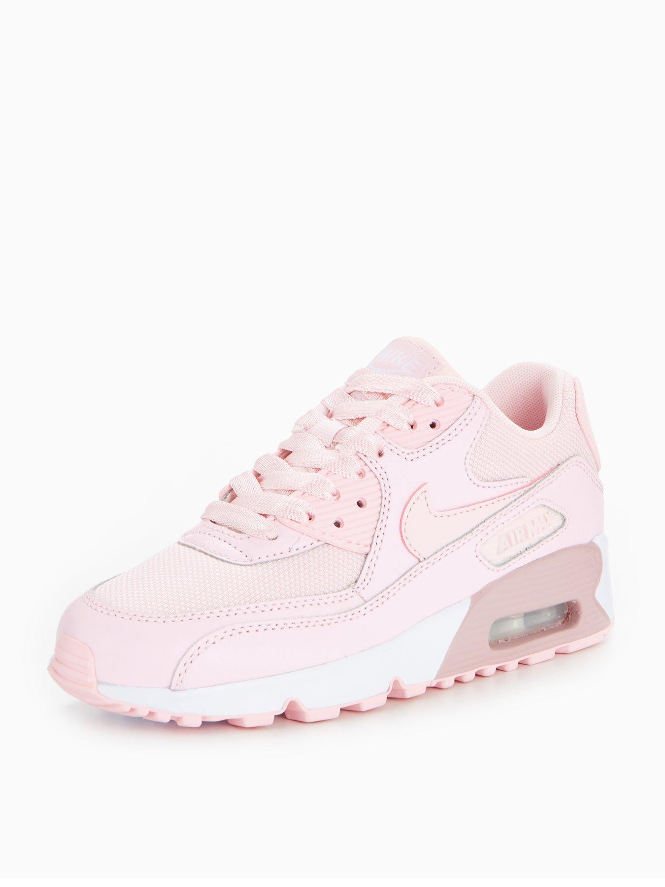The kids model women gap Dis sneakers running shoes which NIKE AIR MAX 90 SE MESH GS Kie Ney AMAX 90 SE mesh pink 880,305 600 adult can wear