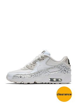 nike-nike-air-max-90-se-leather-junior-trainer