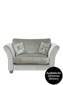 luxe-collection--nbspvelvetine-plain-fabric-cuddle-chair