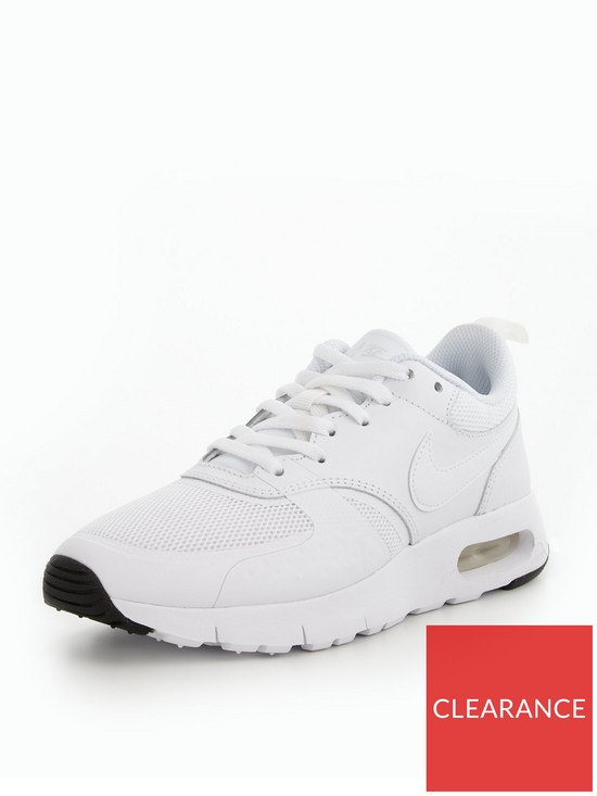 5d5e0eb260 Nike Air Max Vision Junior Trainers - White | very.co.uk