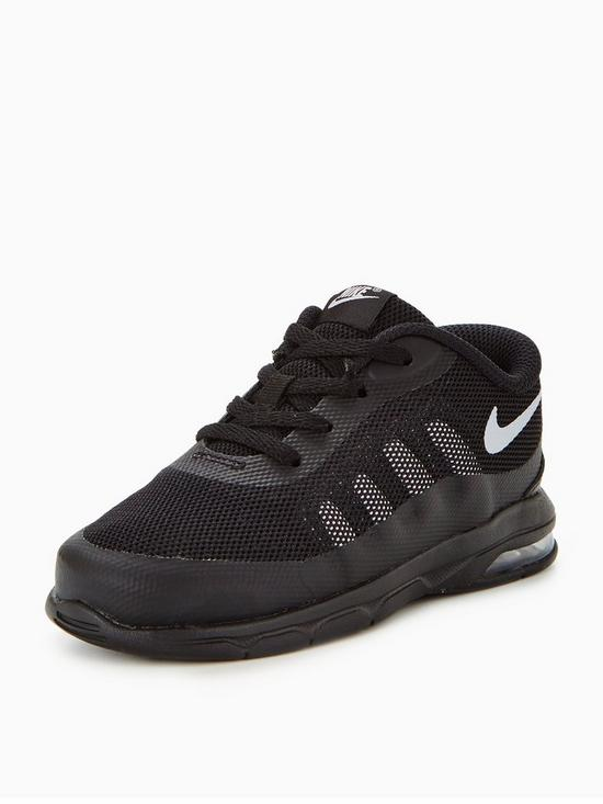 Nike Air Max Invigor Infant Trainers - Black  855e8bce7846