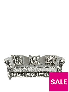luxe-collection--nbspvelvetine-3-seaternbspfabric-sofa