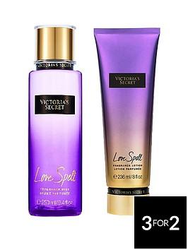 victorias-secret-love-spell-250ml-fragrance-mist-236ml-body-lotion-pack