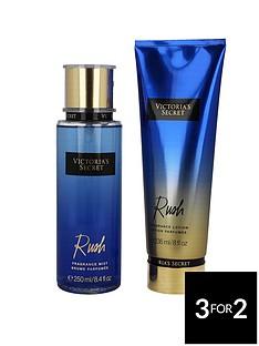 victorias-secret-victoria039s-secretnbsprush-250ml-fragrance-mist-amp-236ml-body-lotion-gift-set
