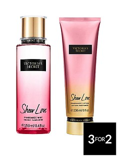 victorias-secret-sheer-love-250ml-fragrance-mist-236ml-body-lotion