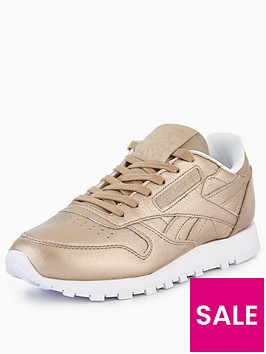 reebok-cl-leather-melted-metal-goldnbsp