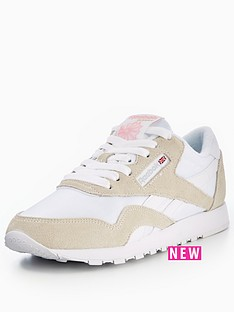 reebok-cl-nylon-white