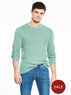 river-island-washed-textured-crew-neck-jumper