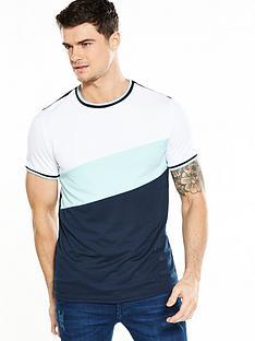 river-island-slim-fit-colour-blocking-tshirt