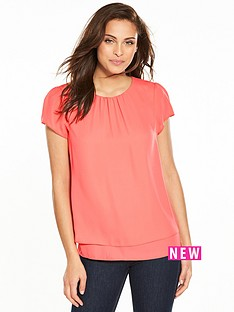 wallis-sleeveless-double-layer-top