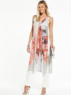 wallis-grey-floral-over-layer-jumpsuit