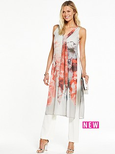 wallis-grey-floral-over-layer-jumpsuit