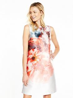 wallis-floral-a-line-shift-dress
