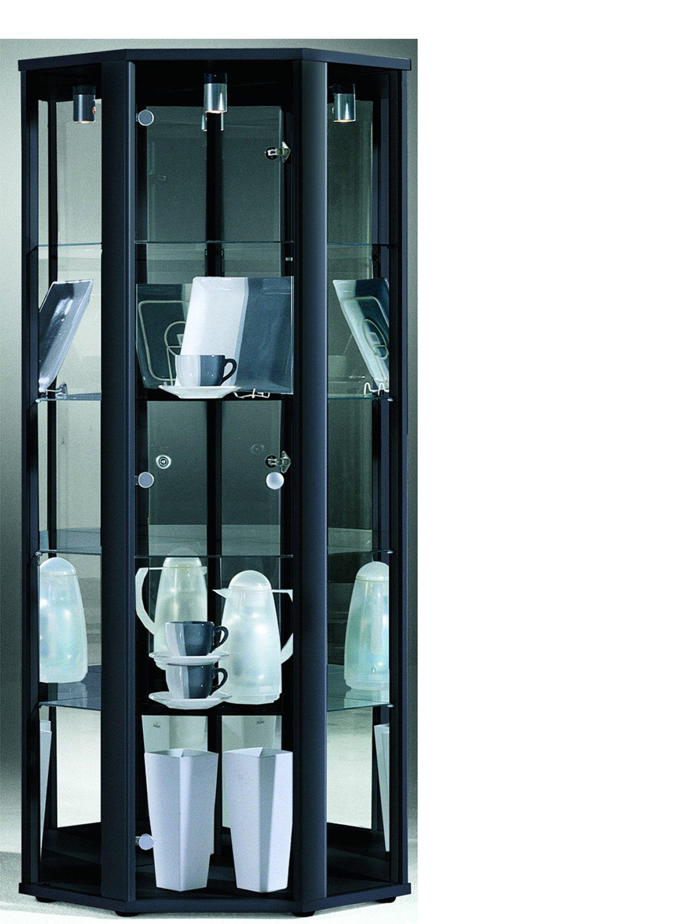 trio corner display unit