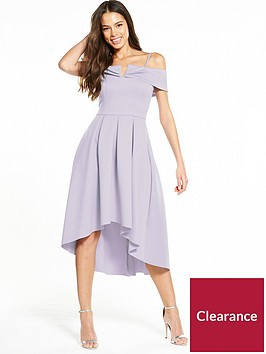 miss-selfridge-bardot-drop-hem-dress