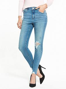 miss-selfridge-large-knee-hole-lizzie-jean-auth-blue