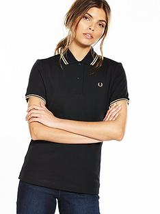 fred-perry-twin-tipped-shirt-blackgold