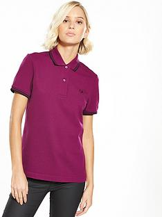 fred-perry-twin-tipped-shirt-bright-brambleblacknbsp