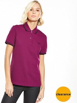 fred-perry-twin-tipped-shirt-bright-brambleblacknbsp