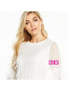 v-by-very-embroidered-fluted-sleeve-tunic