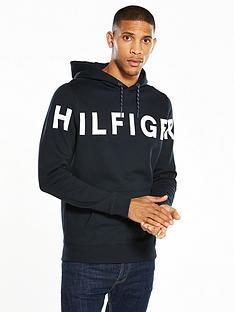 hilfiger-denim-text-logo-overhead-hoody