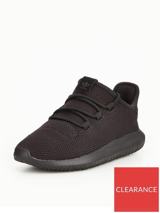 hot sales d5984 43774 adidas Originals Tubular Shadow Childrens Trainer - Black