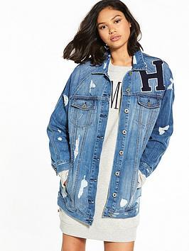 hilfiger-denim-hilfiger-denim-long-oversized-denim-jacket