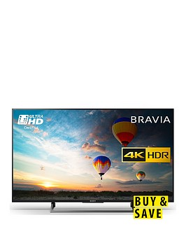 sony-bravia-kd43xe8004-43-inch-4k-ultra-hd-certified-hdr-smart-android-tvtrade-with-youview-freeview-hd-and-google-assistant-built-in-black