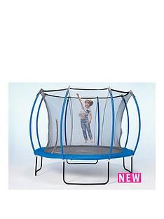 plum-colours-by-plum-10ft-trampoline-amp-enclosure-reversible-blue-amp-lime