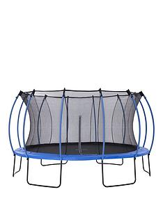 plum-colours-by-plum-14ft-trampoline-amp-enclosure-reversible-blue-amp-lime