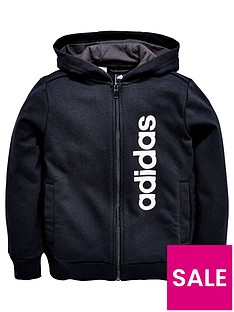 adidas-older-boys-linear-logo-hoody