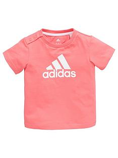 adidas-baby-girl-logo-tee