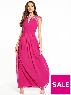 little-mistress-waterlily-embellished-maxi