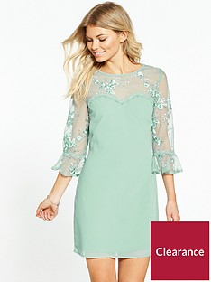 little-mistress-petite-all-over-lace-top-dress