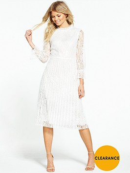 little-mistress-petite-lace-high-neck-shift-dress