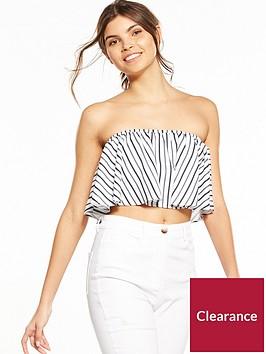 fashion-union-jassamy-bardot-frill-stripe-top