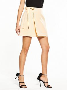 fashion-union-giselle-a-line-wrap-mini-skirt